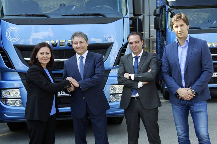 Casais y Cia compra 18 Iveco Stralis NP 400 GNL, en su paso al gas natural