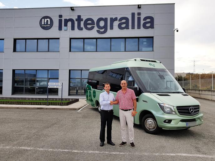 Integralia realiza entregas de su ONE y Sprinter a varias empresas