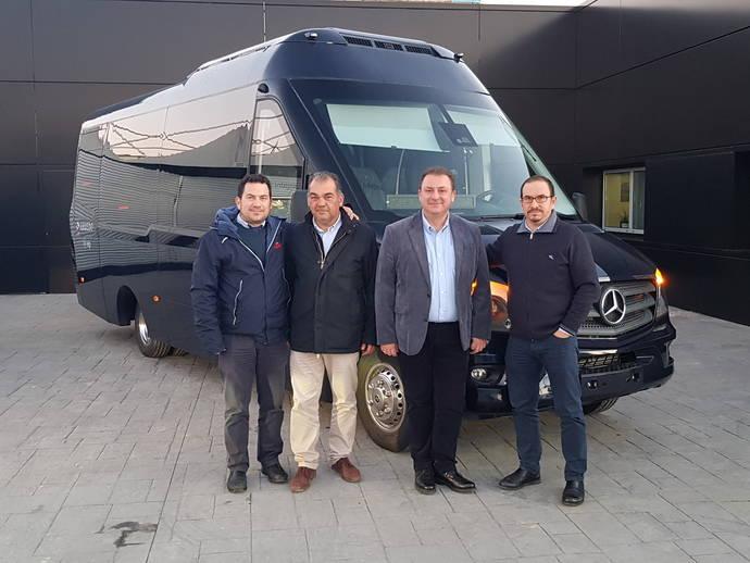 Autocares Amuedo incorpora un ONE de Integralia para su servicio Vip de Sevilla