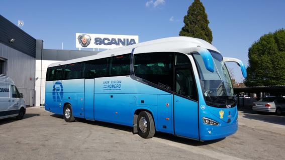 Romero Díaz Car incorpora un chasis Scania