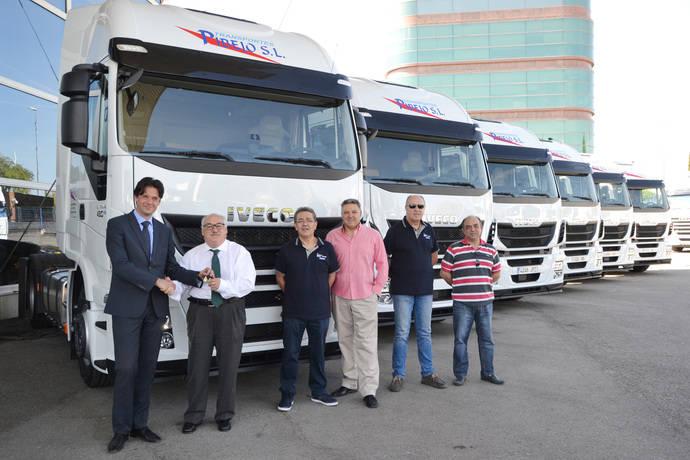 La empresa Transportes Pibejo adquiere seis Iveco Stralis para su flota
