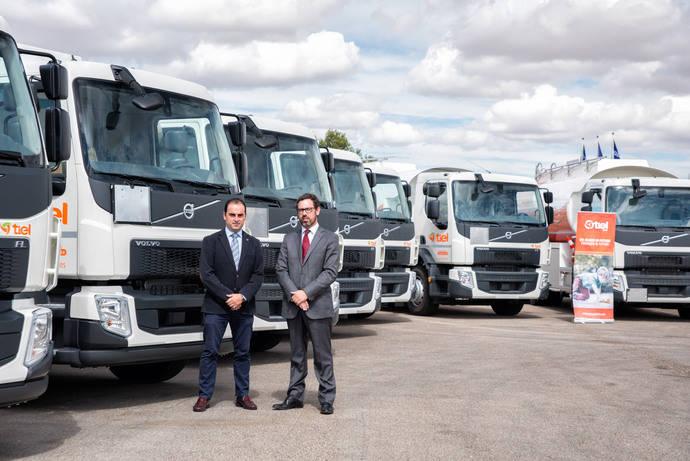 Tiel continúa apostando por Volvo Trucks adquiriendo 9 unidades Volvo