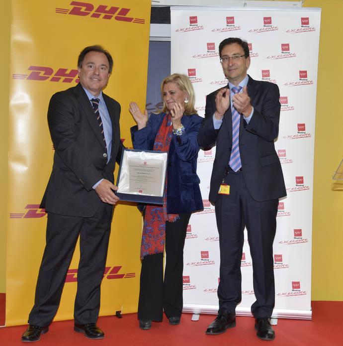 DHL Express se adjudica el sello de calidad Madrid Excelente