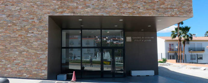 El Ayuntamiento de Alhaurín el Grande recibe su estación de autobuses