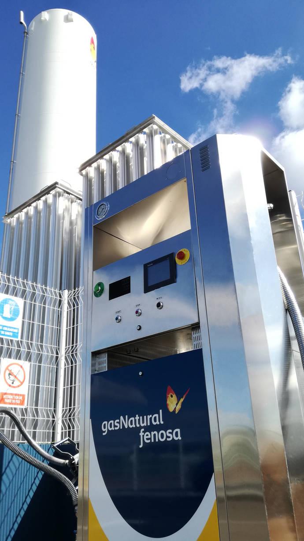 Gas Natural Fenosa abre su segunda estación pública de suministro de gas natural para vehículos en Francia