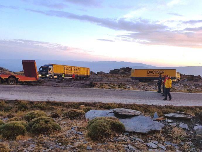 Dachser se encarga de la logística de La Vuelta 2017 en el sur de España