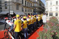 Dachser es la encargada de la logística durante la Vuelta Ciclista