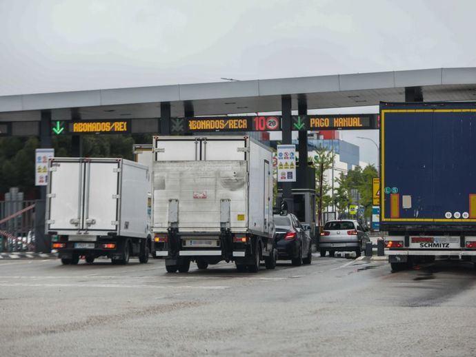La DGT inicia una campaña de vigilancia intensiva de vehículos de transporte de mercancías
