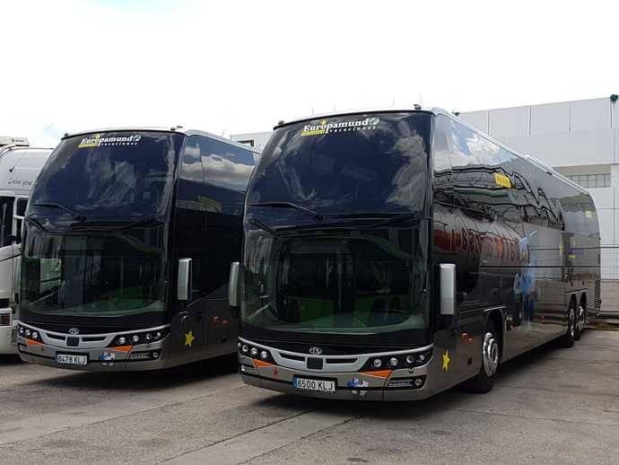 Eurotrans Vacaciones compra dos Scania