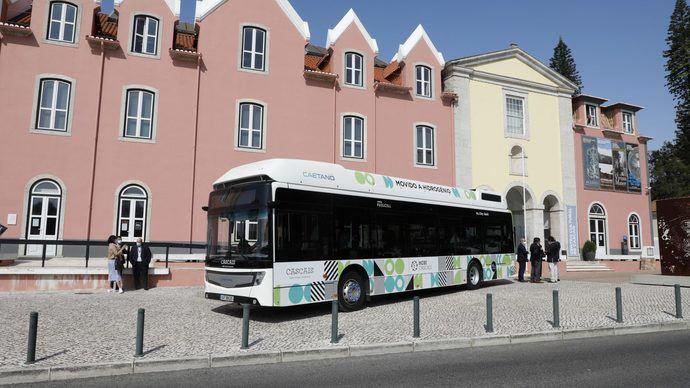 CaetanoBus: primeros buses de pila de combustible en Portugal
