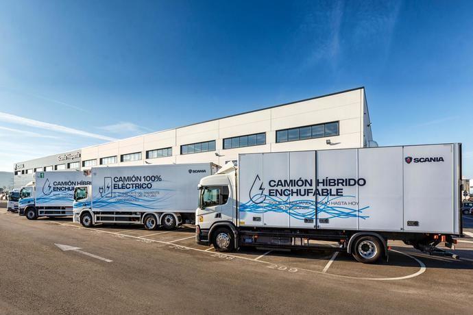 Scania presenta sus soluciones eléctricas, hacia cero emisiones