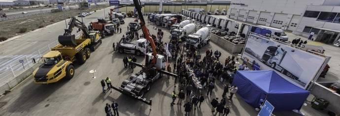 Volvo Truck Center de Valdemoro celebra exitosa jornada dedicada a construcción
