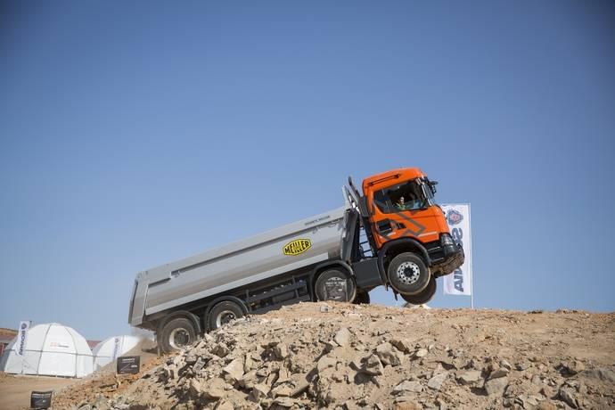 Scania obtiene FIP de Oro por el evento lanzamiento de su gama construcción