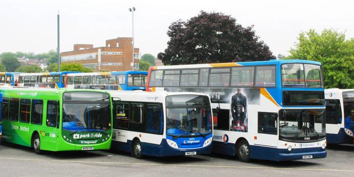 El transporte urbano inglés camina hacia el futuro de la mano de los combustibles alternativos