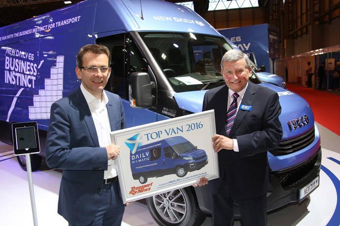 Iveco Daily Hi-Matic premiado 'Top Van 2016'