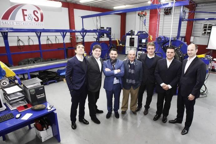 Grupo Salco inaugura su nueva planta de recauchutado de camión de la mano de Goodyear
