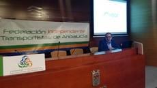 Evento de presentación de la nueva federación de transporte de Andalucía, Fedintra.