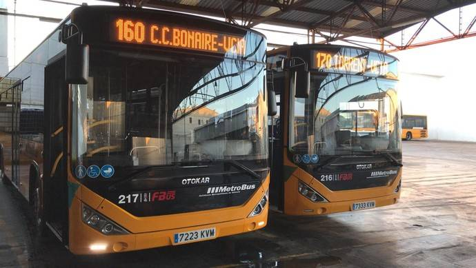Fernanbús adquiere dos Otokar Kent C a Somauto