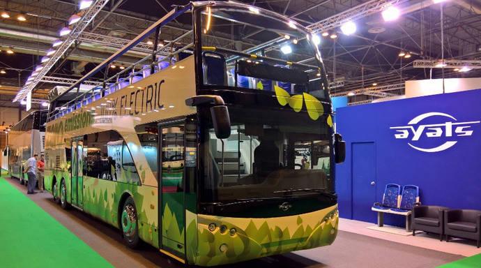 Ayats presente en Busworld con 3 vehículos