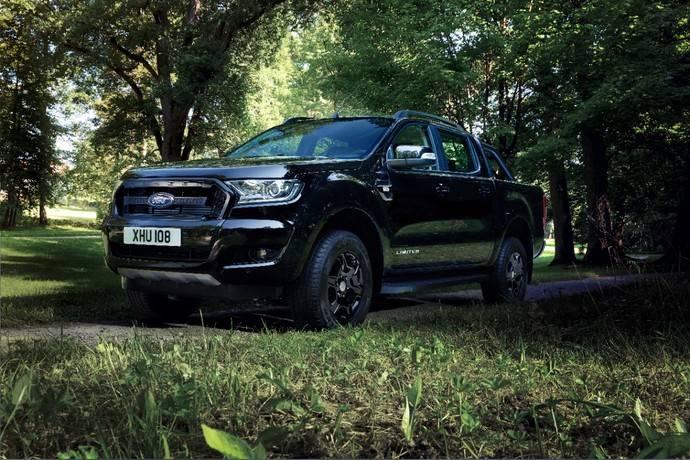 El Ford Ranger Black Edition debutará en el Salón del Automóvil de Frankfurt