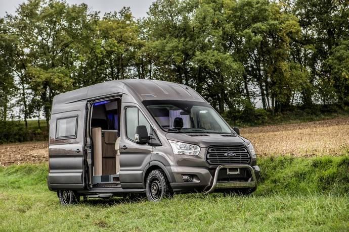 Ford y Trigano crean una Transit Autocaravana con tracción total inteligente