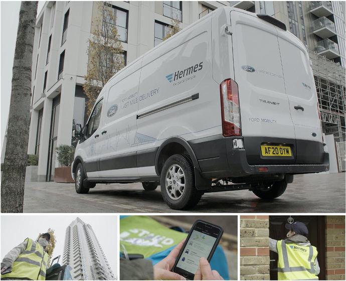 Ford y Hermes: last mile con furgonetas autónomas