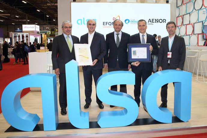 Alsa consigue renovar su Sello de Excelencia Europea EFQM 500+