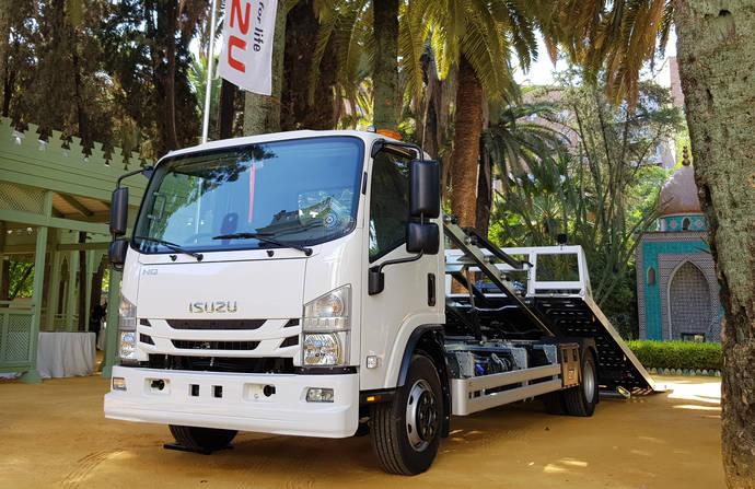 Isuzu lleva a cabo la presentación de su nuevo camión NQR95, de 9,5 toneladas