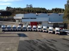 Renault Trucks entrega 11 unidades a Friursa