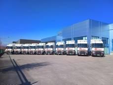 Renault Trucks entrega nuevas unidades de la gama T a Friursa