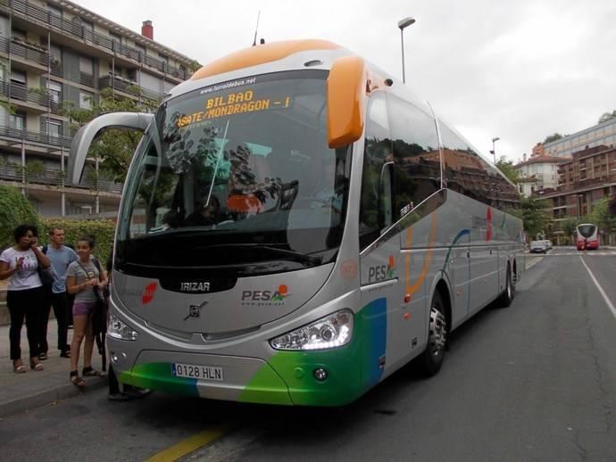 El Gobierno Vasco premia la labor medioambiental de Transportes Pesa