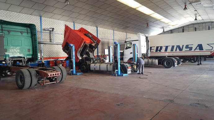 Full Truck Services, aventura de taller multimarca de Ibertinsa