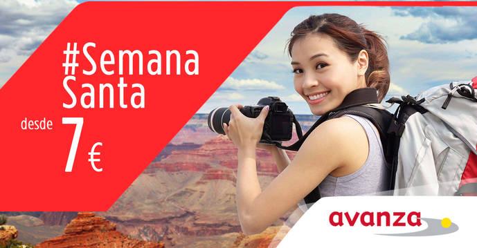 Avanza lanza la promoción para Semana Santa