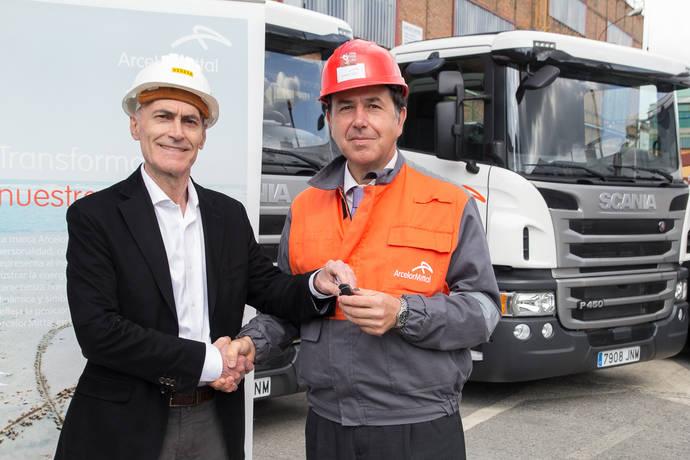 ArcelorMittal Distribución Iberia incorpora 4 unidades Scania P 450