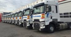 Fertrans adquiere 10 camiones Renault Trucks para su centro en Barcelona
