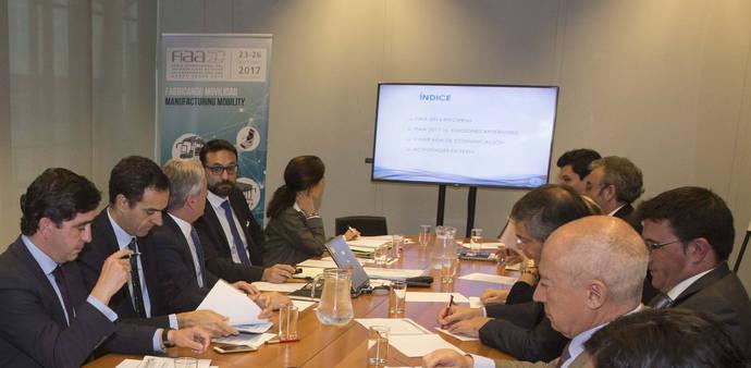 Reunión del Comité Organizador de FIAA 2017.