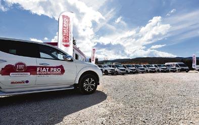 Fiat aporta su ayuda con diez vehículos tras el terremoto italiano