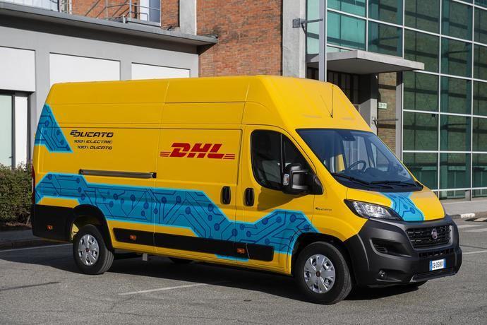 DHL Express y Fiat por la electrificación del transporte de la última milla