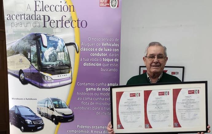 Autos González renueva certificados de su Sistema Integrado Gestión