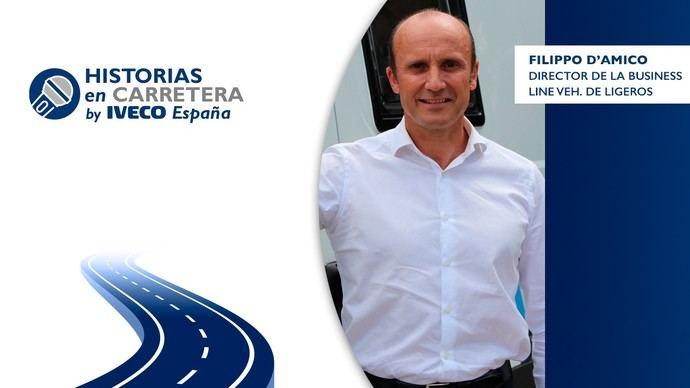 Filippo D'Amicco, director de Business Line, ha participado en el podcast 'Historias en carretera'
