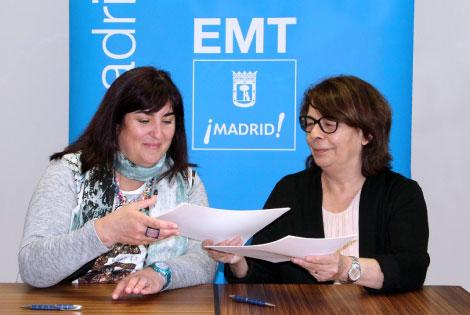 EMT Madrid y Cermi renuevan su convenio de colaboración