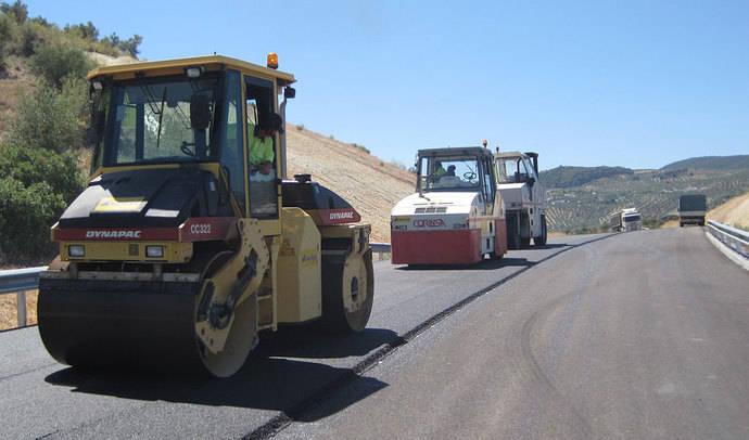 12,5 millones para conservación de firmes en Andalucía