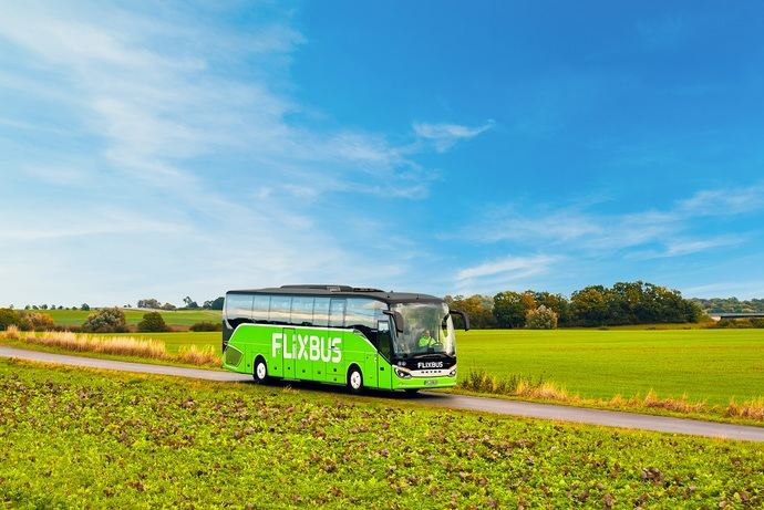 Un autocar de Flixbus.
