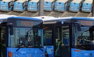 Un botón avisa al conductor de bus en las paradas