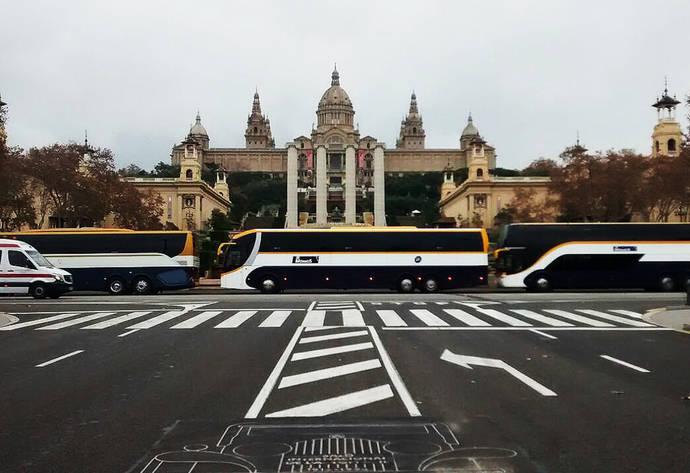 Nueva línea Manresa-Barcelona operada por Monbus