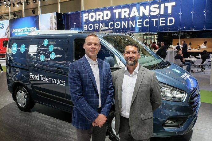 Ford anuncia nuevas soluciones telemáticas y de servicios de datos
