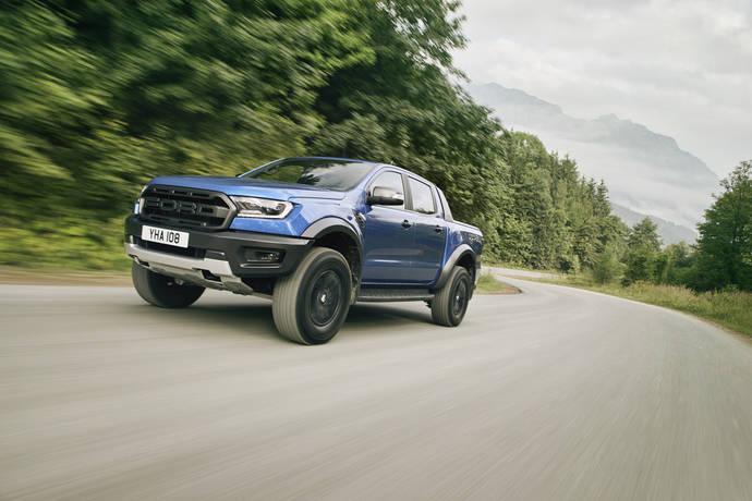 El nuevo Ford Ranger Raptor.
