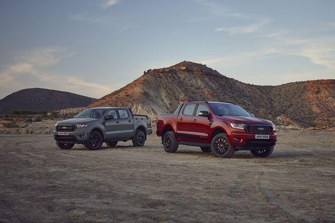 Ford añade las ediciones limitadas Ranger Stormtrak y Wolftrak a la gama de pickups más vendida de Europa