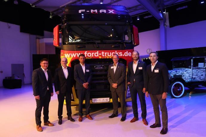 Ford Trucks aterriza en Alemania en su expansión por Euorpa Occidental