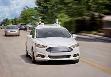 Ford prepara para 2021 un vehículo autónomo